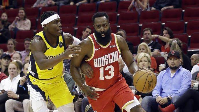 Harden está brillando con luz propia en la ofensiva de los Rockets esta temporada