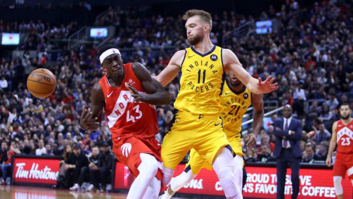 Domantas Sabonis' career year has pushed the Pacers to the sixth seed in a surprisingly tough East.