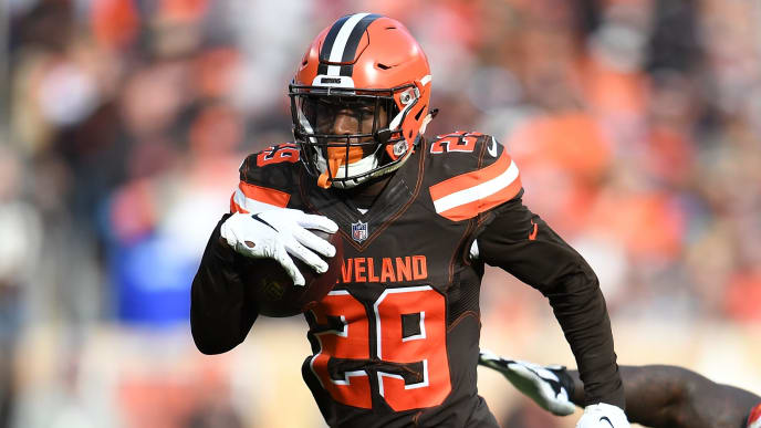 Browns trade RB Duke Johnson to Texans