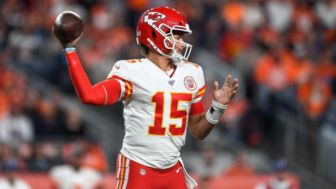 Chiefs Rule Patrick Mahomes Out For Rest Of Thursday Night
