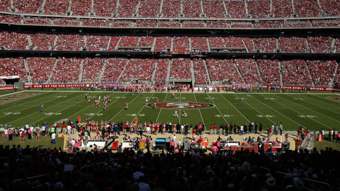 SANTA CLARA, CA - OCTOBER 05:  A general view during the Kansas City Chiefs game against the San Francisco 49ers at Levi's Stadium on October 5, 2014 in Santa Clara, California.  (Photo by Ezra Shaw/Getty Images)