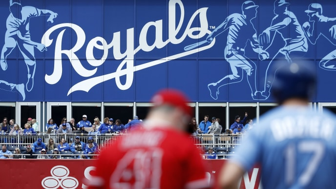 Reales de Kansas City juegan en el Centro de la Liga Americana