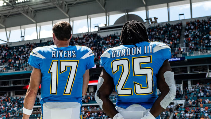 Philip Rivers, Melvin Gordon III