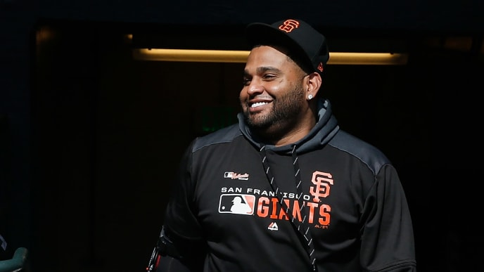 Pablo Sandoval has re-signed with the San Francisco Giants