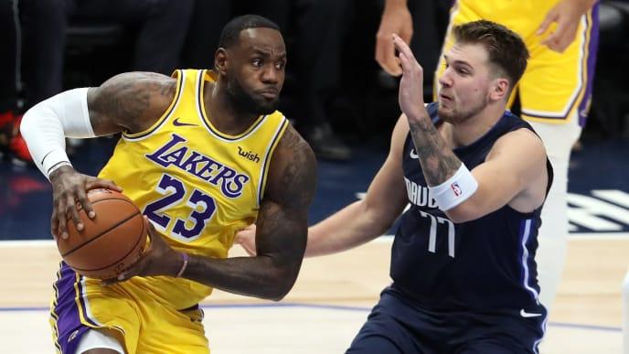 Lakers Vs Mavericks Nba Live Stream Reddit For Jan 10