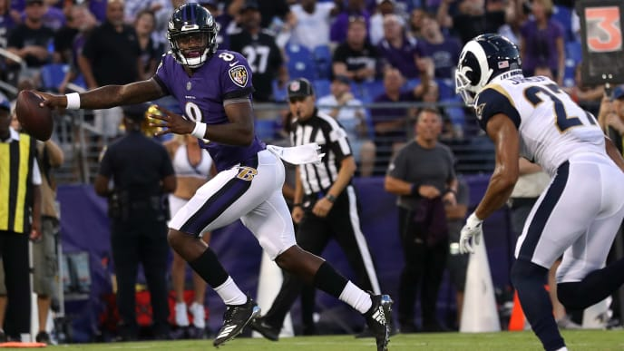 Image result for ravens vs rams