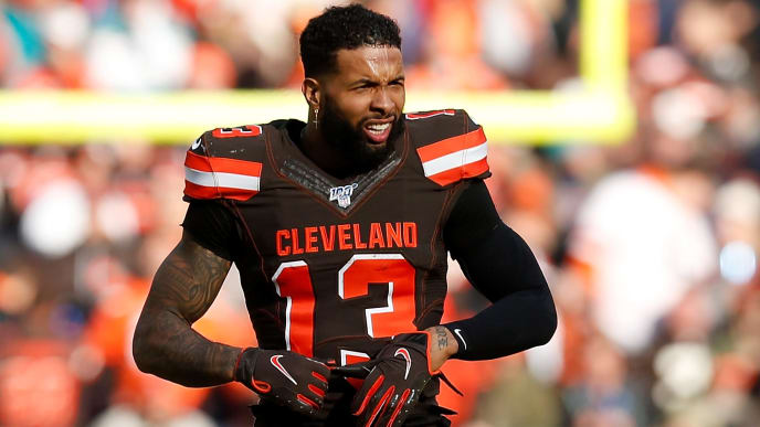 Odell Beckham could be on his way out of Cleveland