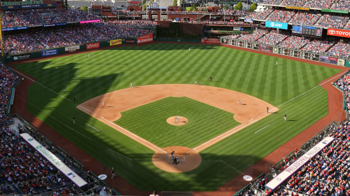 PHILADELPHIA, PA - JUNE 22: A general view of Citizens Bank Park during the game between the Miami Marlins and Philadelphia Phillies on June 22, 2019 in Philadelphia, Pennsylvania. The Marlins won 5-3. (Photo by Drew Hallowell/Getty Images)