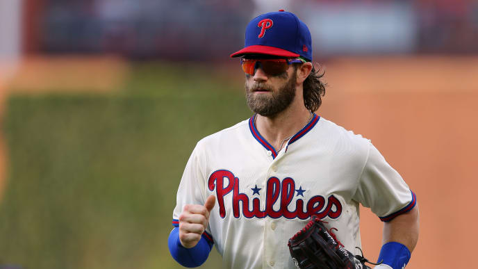 The PECOTA projections ripped off Bryce Harper and his Phillies regarding the 2020 MLB standings.