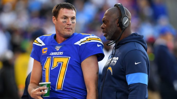 Philip Rivers, Anthony Lynn