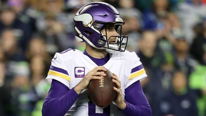 Kirk Cousins and Minnesota Vikings take on Seattle Seahawks in NFL Week 13