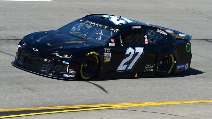 RICHMOND, VIRGINIA - SEPTEMBER 20: Quin Houff, driver of the #27 Chevrolet, practices for the Monster Energy NASCAR Cup Series Federated Auto Parts 400 at Richmond Raceway on September 20, 2019 in Richmond, Virginia. (Photo by Jared C. Tilton/Getty Images)