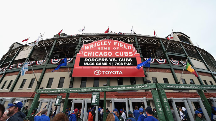 Cubs Home Opening Day 2020.Cubs To Extend Protective Netting At Wrigley Field For 2020