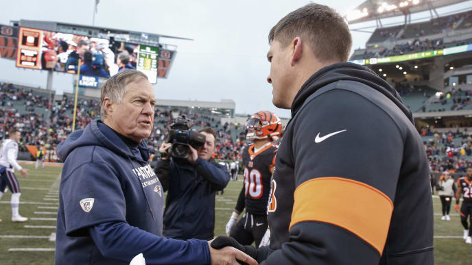 The New England Patriots defeated the Cincinnati Bengals in Week 15