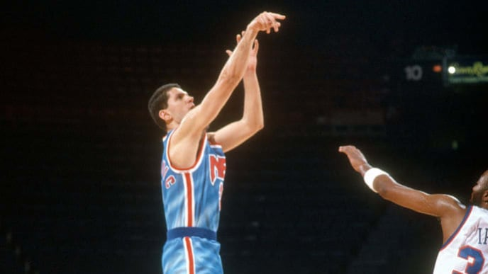 While Petrovic's life was cut short, his shooting ability will always be remembered.