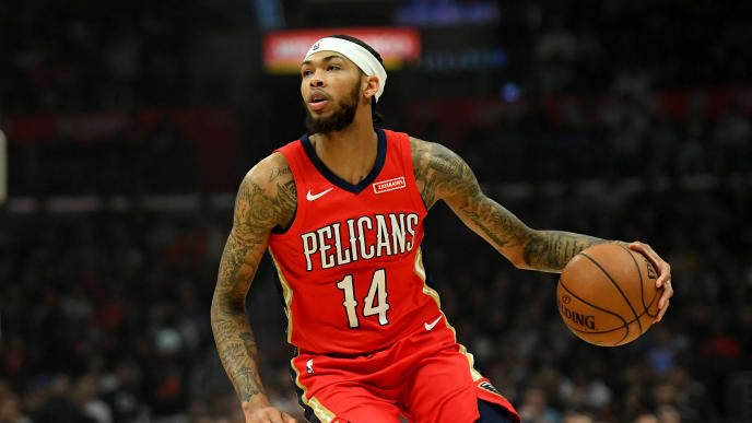 New Orleans Pelicans' Brandon Ingram is breaking out since his trade from the Los Angeles Lakers