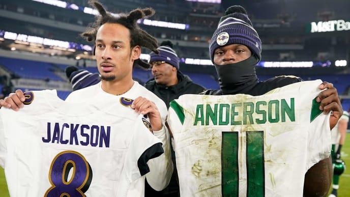 Lamar Jackson, Robby Anderson