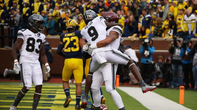Ohio State Buckeyes Open With Higher Win Total Than Michigan
