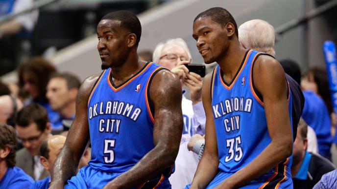 Kendrick Perkins, Kevin Durant