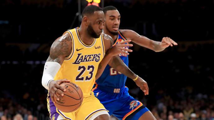 Lakers Vs Thunder Nba Live Stream Reddit For Jan 11