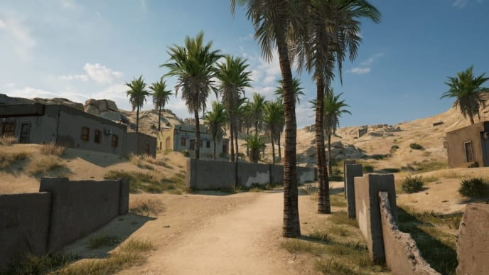 One of the two teaser photos for the new map: Karakin.