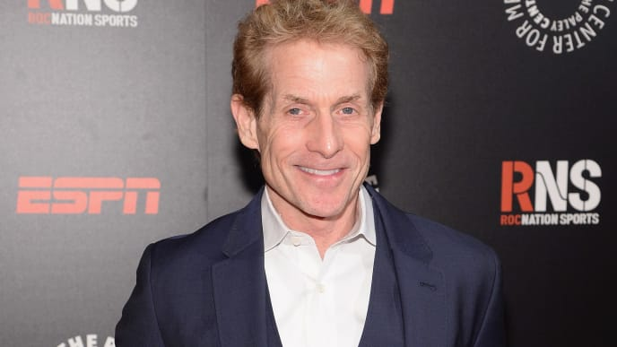 NEW YORK, NY - MAY 28:  Skip Bayless attends the Paley Prize Gala honoring ESPN's 35th anniversary presented by Roc Nation Sports on May 28, 2014 in New York City.  (Photo by Jamie McCarthy/Getty Images for Paley Center for Media)