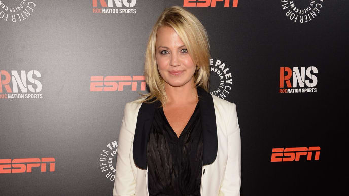 NEW YORK, NY - MAY 28:  Sportscaster Michelle Beadle attends the Paley Prize Gala honoring ESPN's 35th anniversary presented by Roc Nation Sports on May 28, 2014 in New York City.  (Photo by Jamie McCarthy/Getty Images for Paley Center for Media)