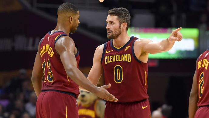 Tristan Thompson, Kevin Love