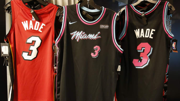 competitive price fbdef e2544 Heat's 2020 Vice City Jerseys Leaked and They're Freaking Sick