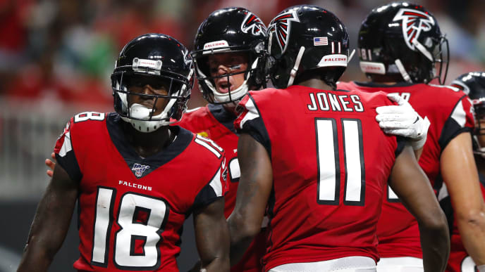 cheaper 1b766 e72d1 Calvin Ridley Fantasy Value Falls With No Targets in First ...
