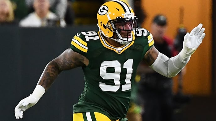 Packers linebacker Preston Smith will be out for revenge against his former Redskins on Sunday.