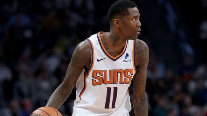 DENVER, COLORADO - JANUARY 25: Jamal Crawford #11 of the Phoenix Suns plays the Denver Nuggets at the Pepsi Center on January 25, 2019 in Denver, Colorado. NOTE TO USER: User expressly acknowledges and agrees that, by downloading and or using this photograph, User is consenting to the terms and conditions of the Getty Images License Agreement. (Photo by Matthew Stockman/Getty Images)