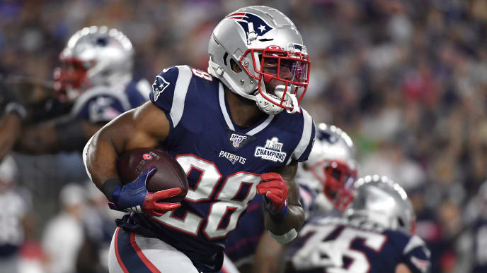 hot sale online 2f0f2 1b6e1 It's Pretty Clear Patriots RB James White is About to Have a ...