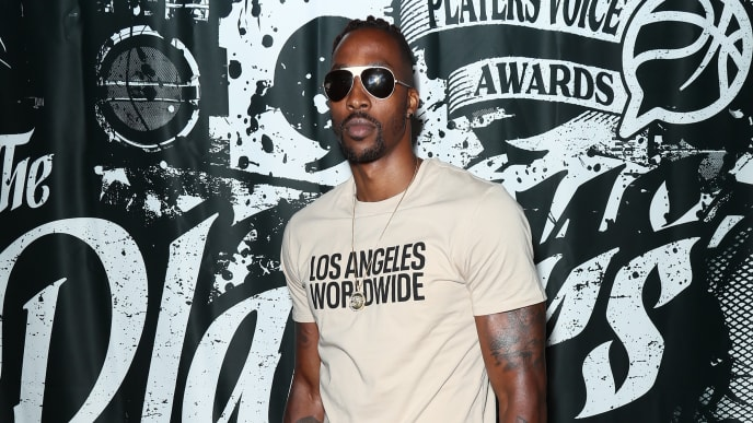 LOS ANGELES, CALIFORNIA - JULY 09: Dwight Howard attends Players' Night Out 2019 hosted by The Players' Tribune featuring the NBPA's Players' Voice awards at The Dream Hotel on July 09, 2019 in Los Angeles, California. (Photo by Leon Bennett/Getty Images for The Players' Tribune)