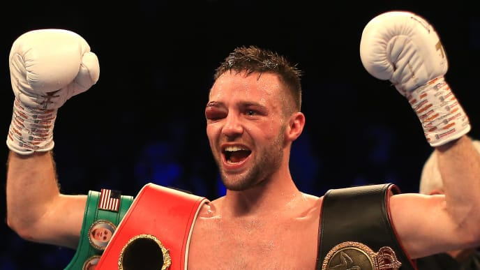 Light welterweight champion Josh Taylor is in the midst of a messy divorce from his promoter.
