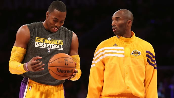 Dwight Howard, Kobe Bryant