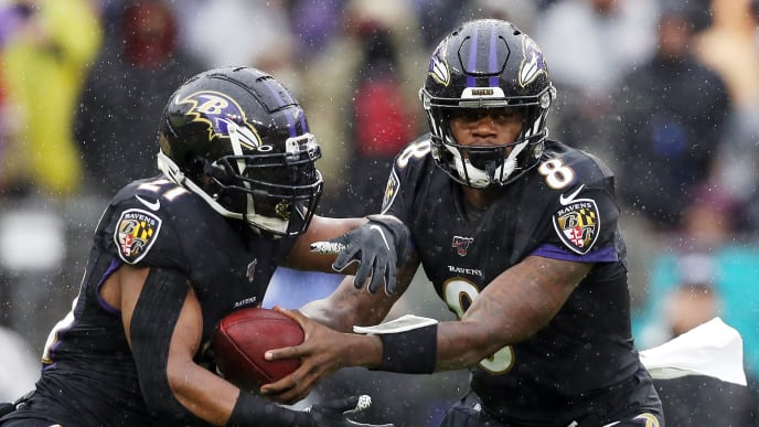 Lamar Jackson, Mark Ingram II
