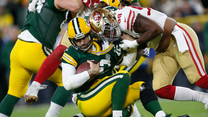 Image result for san francisco 49ers green bay packers