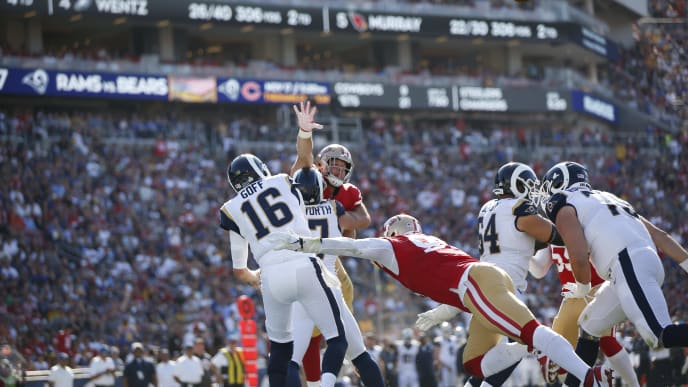 49ers Vs Rams Nfl Live Stream Reddit For Saturday S Week 16 Game