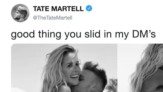 tate martell girlfriend ig