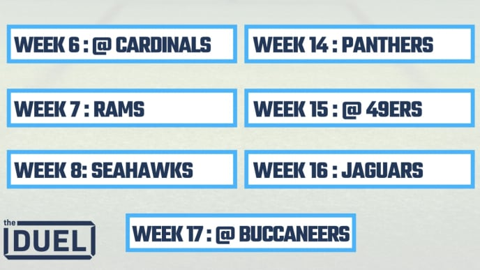 graphic about 49ers Schedule Printable known as 2019 Printable NFL Schedules for NFC South Groups