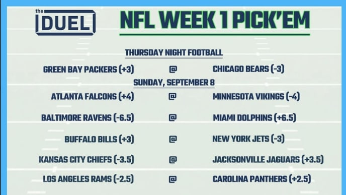 graphic relating to Printable Nfl Pickem Sheets known as Printable NFL Weekly Decide on Em Sheets for 7 days 1