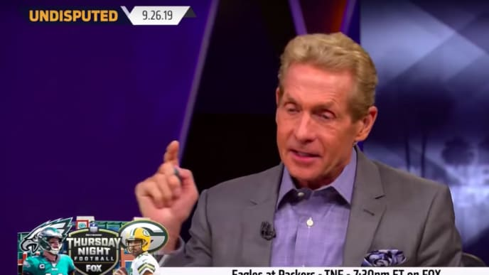 Skip Bayless, Aaron Rodgers
