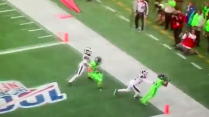 Video New Angle Of Russell Wilson To Tyler Lockett Td Shows