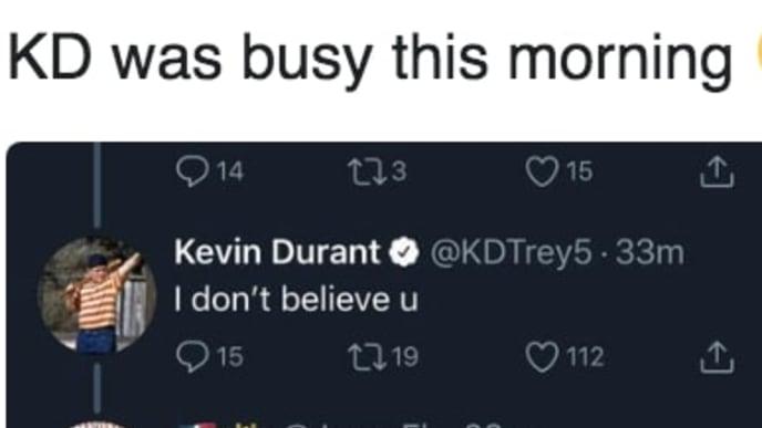 @KDTrey5/Twitter