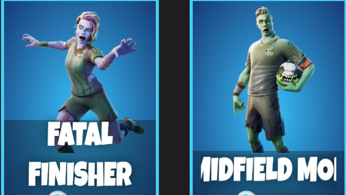 Zombie Soccer Skin Fortnite How Much Does It Cost