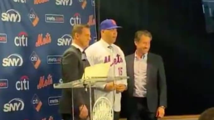 Video Watch Mets Introduce Carlos Beltran As Team S Next