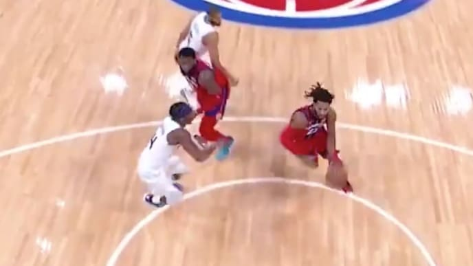 Jugada de Derrick Rose ante Charlotte Hornets