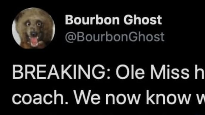 @BourbonGhost racked up the likes and retweets with some totally fake Mike Leach to Ole Miss news.