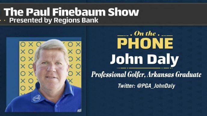 John Daly on Paul Finebaum Show